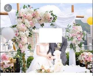 婚禮拱門租借