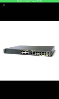 Cisco 2960G  gigabit switch