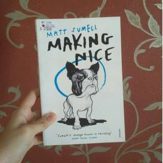 Making Nice by Matt Sumell (import novel)