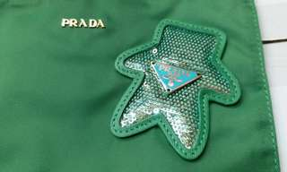 PRADA 名牌化裝飾物袋
