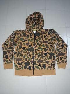 Camo korean hoodie