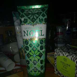 Bbw / bath and bkdy works vanilla bean noel body cream