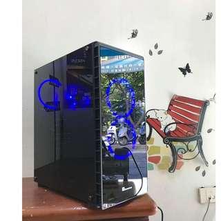 ※電電電腦※INTEL十核二十線/SSD/16G/GTX1050TI (天堂十三開/絕地求生/GTA5/要塞英雄) 高雄可面交/蝦皮刷卡貨到付款