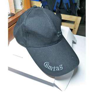 🚚 [特價含運] 羅馬字 黑素色 潮流帽    棒球帽  CAP  #十月半價特賣