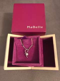 MaBelle diamond necklace