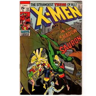🚚 X-men Vol. 1 #60 - 1st appearance of Sauron