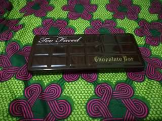 Too Faced Chocolate Bar Palette (with box)