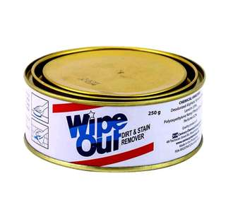 Wipeout Dirt and Stain Remover leather conditioner