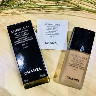 Chanel Le Teint Ultra Matte Foundation