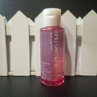 [Travel Size] Shu Uemura - Skin Purifier POREfinist Anti-Shine Fresh Cleansing Oil