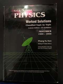 [A Level] Physics
