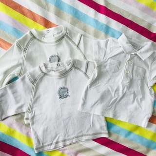 Baby Boy Tops 0-6mths