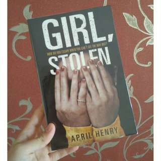 Girl, Stolen by April Henry (import novel)