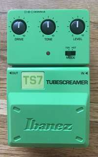 Ts7 limited edition ibanez tube screamer new unused with box