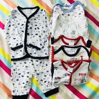 Baby Boy Clothes Bundles 0-6mths
