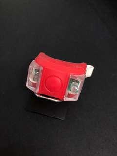 單車燈 閃燈 安全行車燈 夜晚踏單車 4種閃法 全新 紅色 車頭車尾燈 LED sparkle light for bicycle