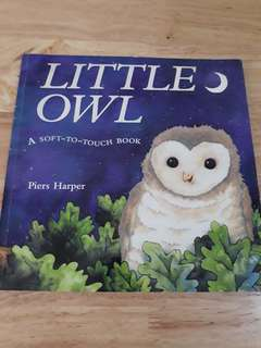Little Owl a soft-to-touch book