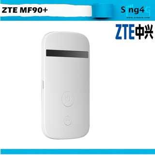 🚚 4G MIFI SIM ZTE MF90+ (4G 100mbps 10WIFI Share Max 6hr)