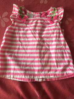 pink blouse 1-2 t