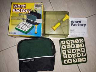 Word Factory Chess Brain Twister Scrabble Millionaires (Negotiable)