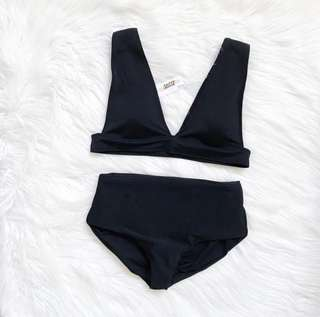 Swimsuit - Two piece - Highwaist