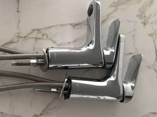 Toto hot and cold basin tap (2 nos)