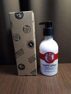 THE BODY SHOP FROSTED BERRIES BODY GEL 250ML EXP2020