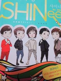 Shinee unofficial book + practice dance CD