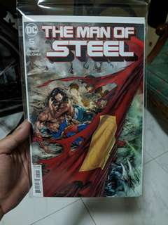 DC Comics The Man of Steel issue 5 (Bendis)