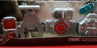 DC Justice League Cyborg Belt and Blast Pack