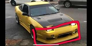 Uras bodykit for Nissan Silvia 180SX 200SX