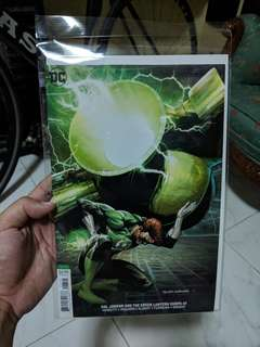 DC comics Hal Jordan and the Green Lantern Corps issue 47 Variant