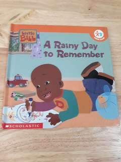 Little Bill A Rainy Day to Remember book