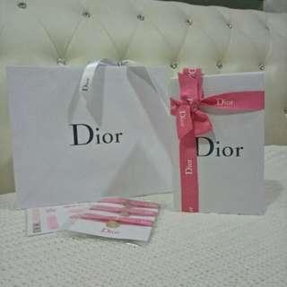 Dior Paper Bag & Box