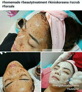 Face and Body Scrub