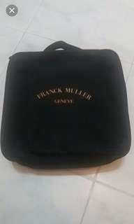 出售全新franck muller旅行套裝( 頸枕,全球通萬用蘇,萬用掛袋)