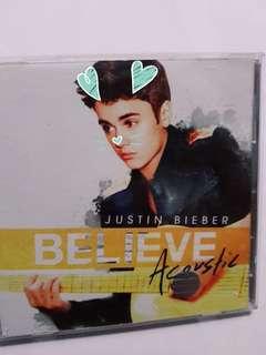 Justin Bieber believe accoustic album
