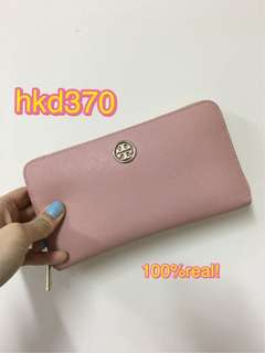 Tory Burch Wallet 長銀包 continental full zip wallet pink