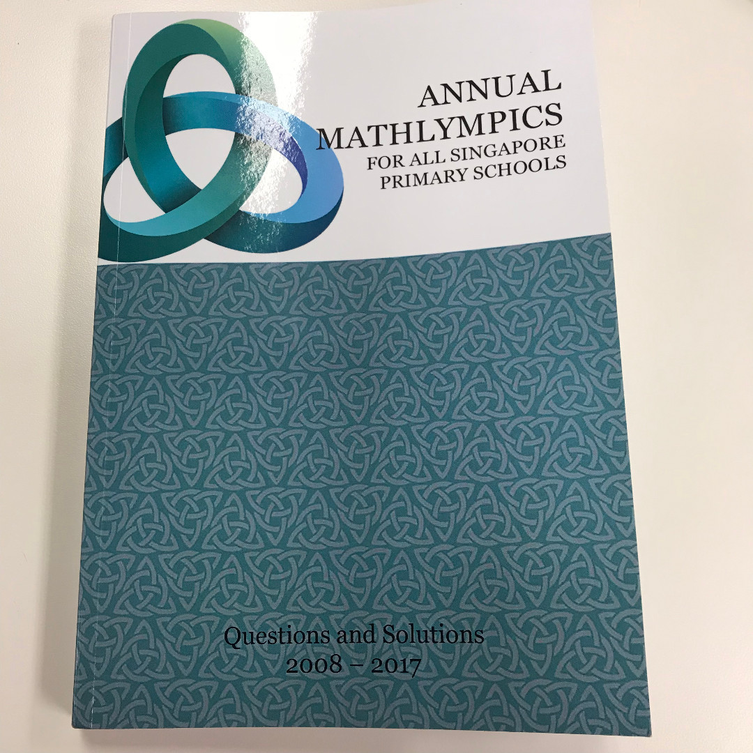 Annual Mathlympics 10 years series (2008 to 2017) Past Years papers ...