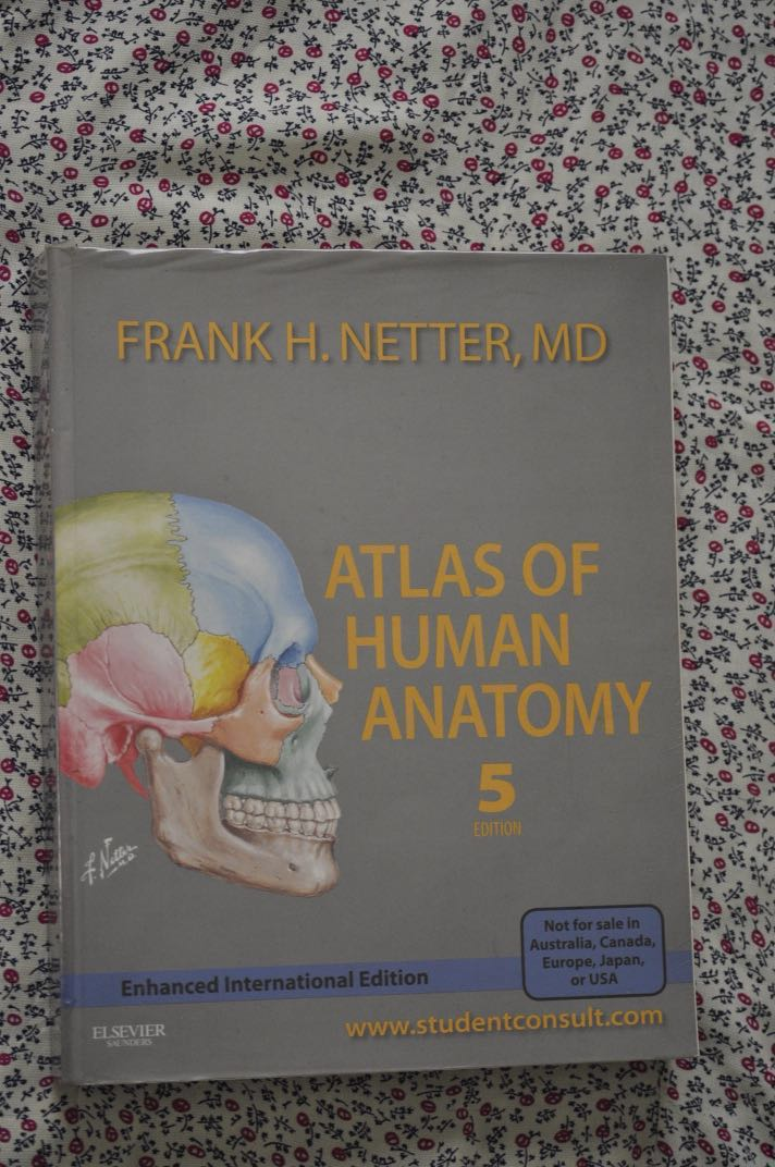 Atlas of Human Anatomy 5th edition, Textbooks on Carousell