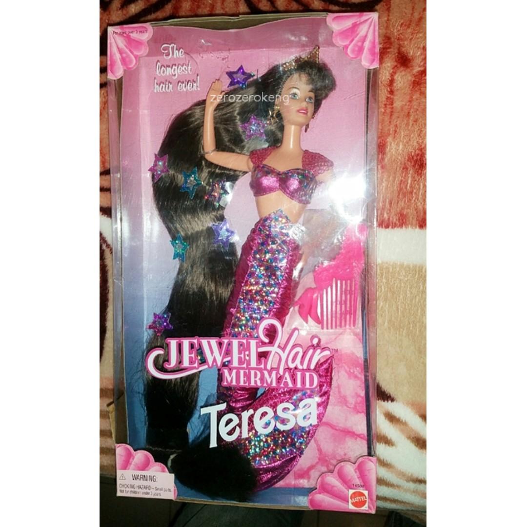 🆕 Barbie Jewel Hair Mermaid Teresa (1995 edition)