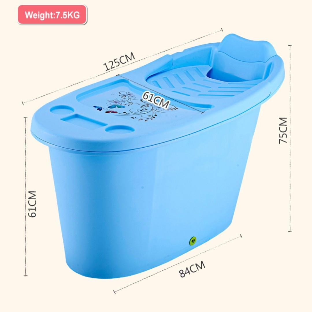 Adult Portable Bathtub Soaking Tub Hdb Bathtub Light Tub