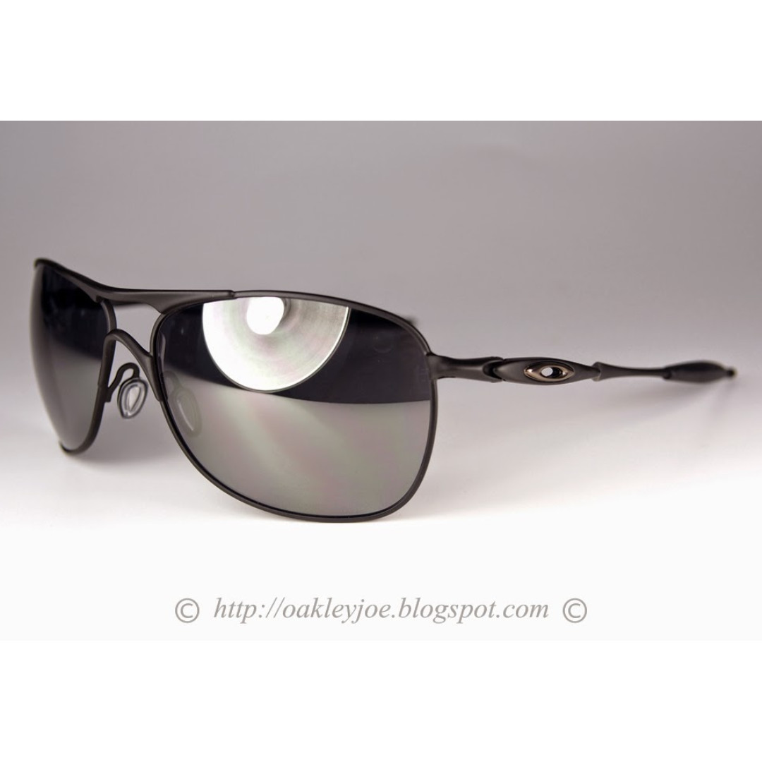 4c2ce8c2305ff BNIB Oakley Crosshair matte black + black iridium oo4060-03