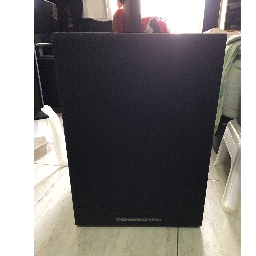 Cerwin-Vega! LW-12X 12-Inches Power Active Subwoofer, Made in U.S.A  (300Watts), Electronics, Audio on Carousell