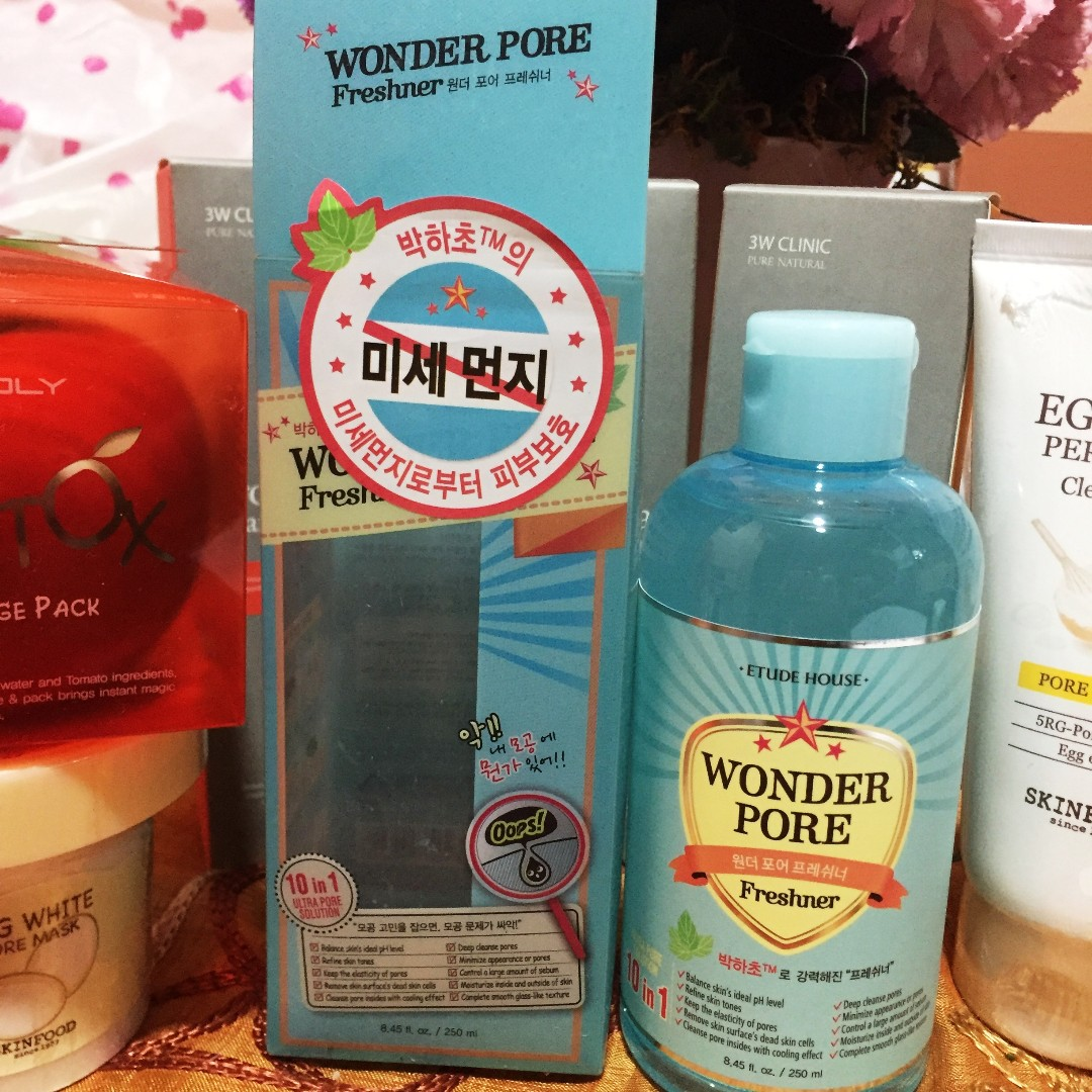 Etude House Wonder Pore Freshner 250ml Health Beauty Skin Bath 500 Ml Body On Carousell