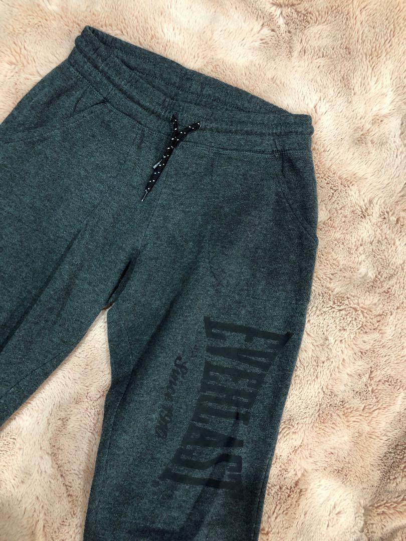 Everlast dark grey trackpants