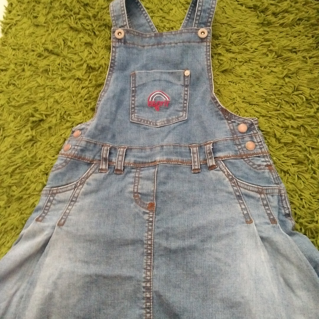 9541055e1 Free mail - Esprit Kids Girls Jumper denim dress (size 128/134)
