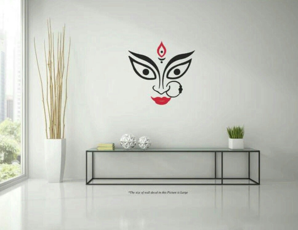 goddess wall decal, furniture, home decor, others on carousell