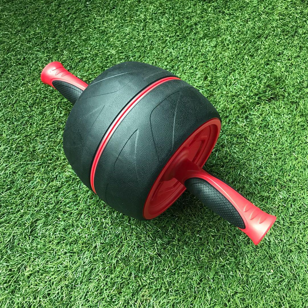 viralliset kuvat outlet putiikki iso ale Gymstick Jumbo Abs Roller, Sports, Weights & Gym Equipment ...
