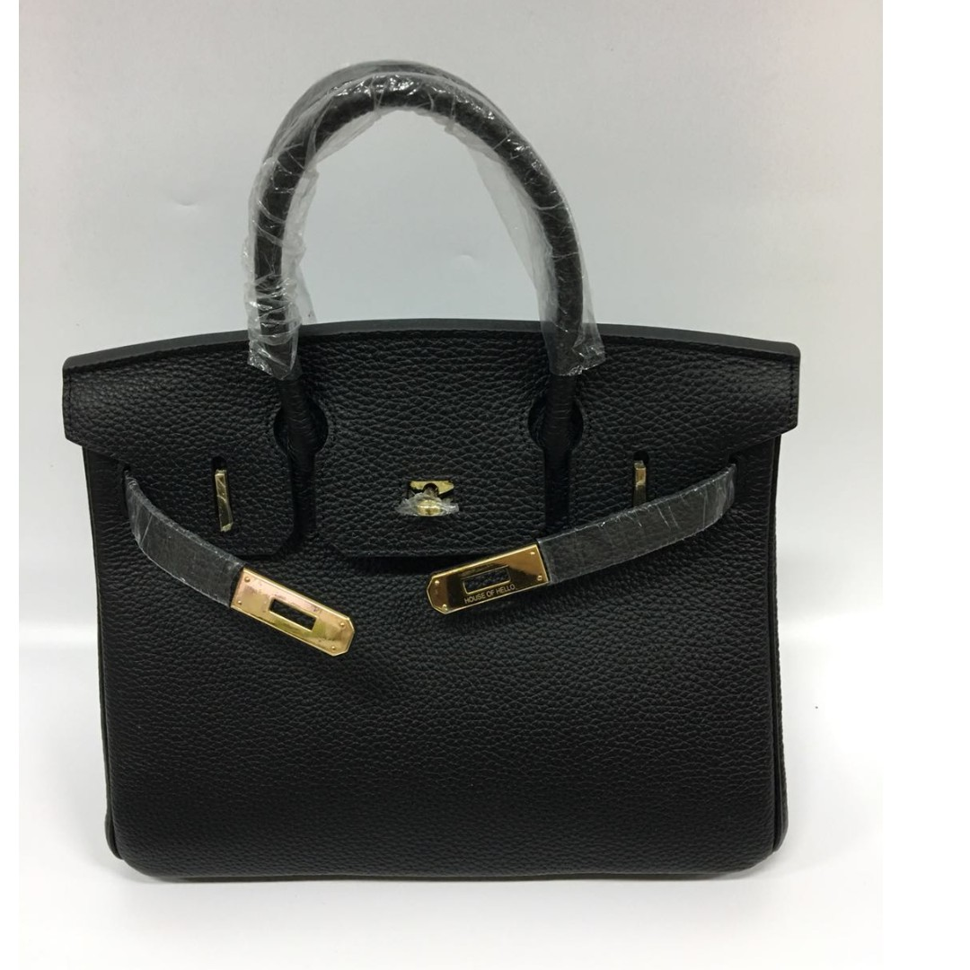 85271cb4100c House of hello Togo print Birkin bag in size 25 black